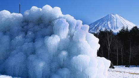 140120西湖の樹氷@山梨 富士河口湖町