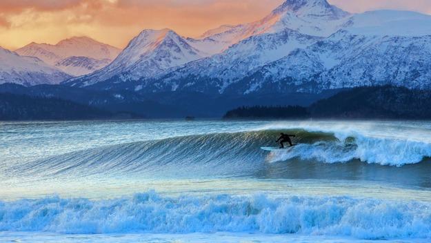 141226カチェマック湾@アメリカ アラスカ州