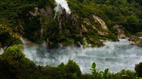 130904フライパン湖@ニュージーランド