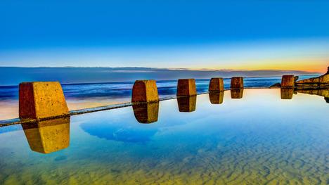 140111クージー・ビーチ@オーストラリア シドニー