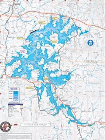 lake chatuge_map