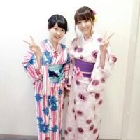 声優・加藤英美里(33)さんと東山奈央(25)さんの浴衣姿がこちらwwwwwww