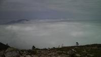 東篭ノ塔山から見えた雲海