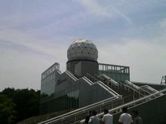 かつて富士山頂にあったレーダードーム