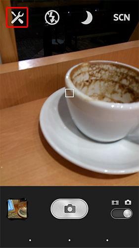 カメラの自動シャッターを止める01