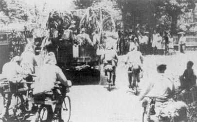 Japanese_troops_move_through_Java