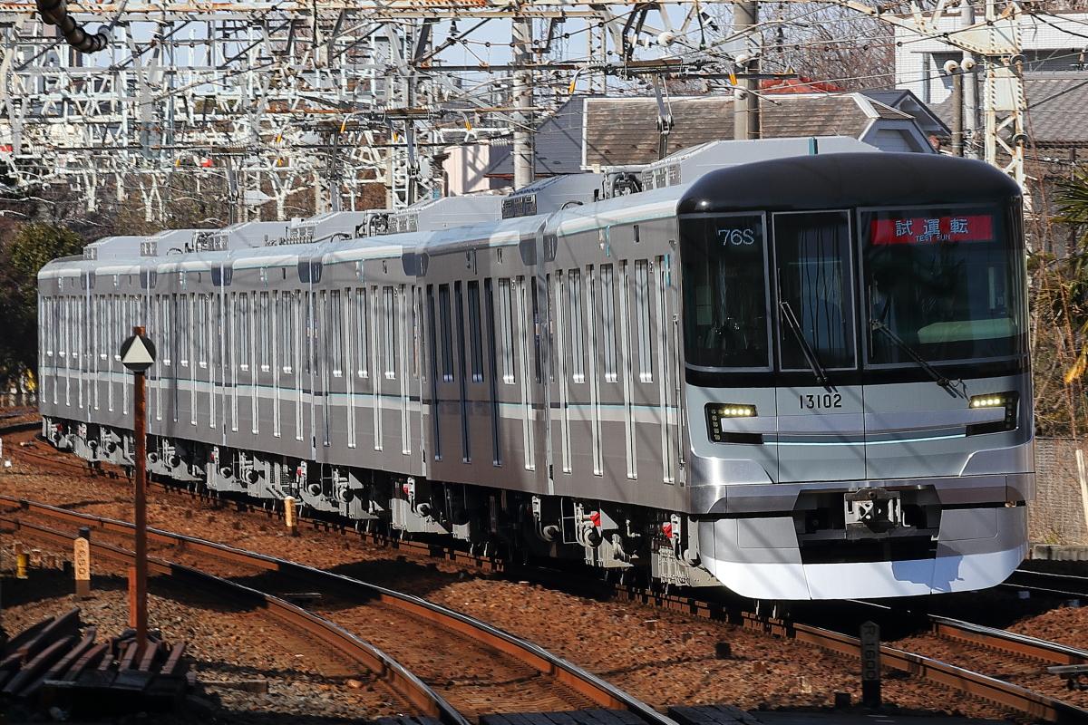 支配人のたららんな日々♪ : 東京メトロ13000系の試運転(東武 ...