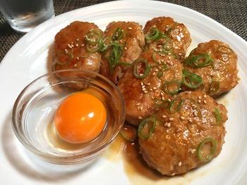 鶏つくねのレシピ