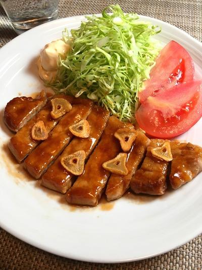 トンテキのレシピその8