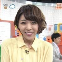 声優の豊崎愛生さんがテレ東のお天気お姉さんとして登場!これは元気が出る!