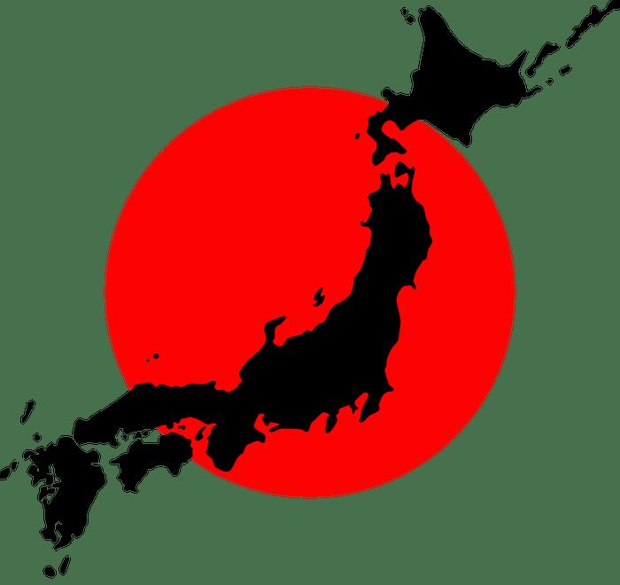 map-japan-silhouette-hinomaru