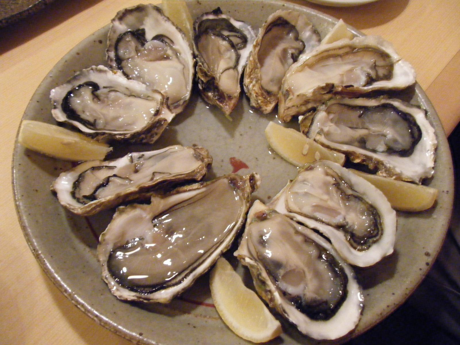 Living for Food! : 牡蠣・あんこう新川河岸