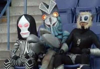 3怪人 観客 観戦 応援