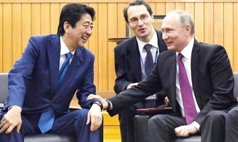 安倍 プーチン