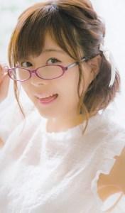 髪型・メガネ姿が素敵な水瀬いのり
