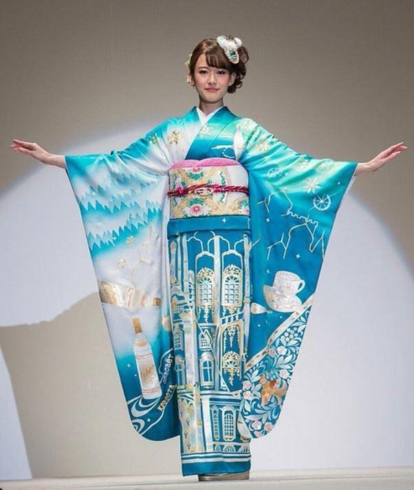 東京オリンピックの着物プロジェクトで、ロシアをイメージした着物