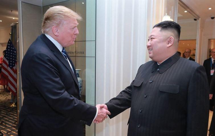 【畫像あり】韓國人「歴史的事件!」トランプ大統領と金正恩 ...