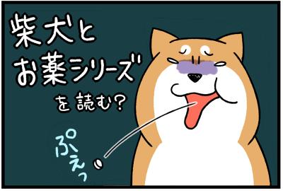 柴犬とお薬シリーズ