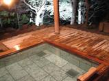 武蔵野別館の露天風呂です。