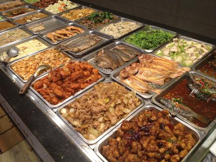 食べ台湾!美味しい台北 : 淞江自助餐 好きなおかずを好きなだけ盛って食べる自助餐