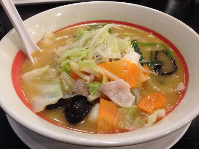 「幸楽苑 味噌野菜ラーメン」の画像検索結果