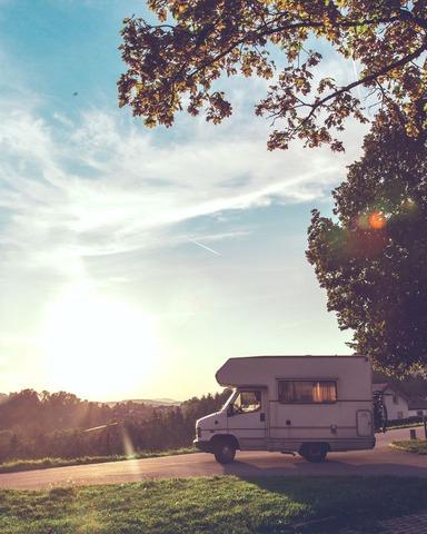 Voiture de camping-car