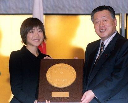 国民栄誉賞15 高橋尚子さん : 気ままにkakikukekon