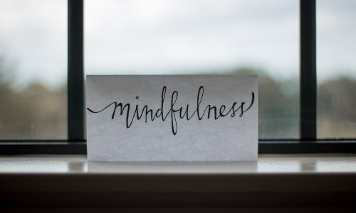 Mindfulness in life and work-life.