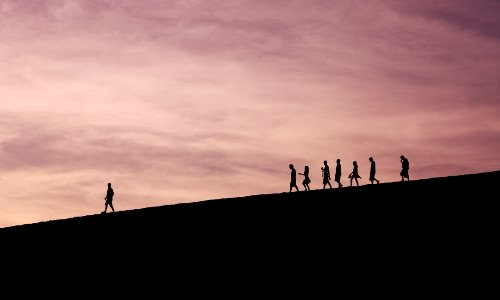 Leader attracts followers: How and Why