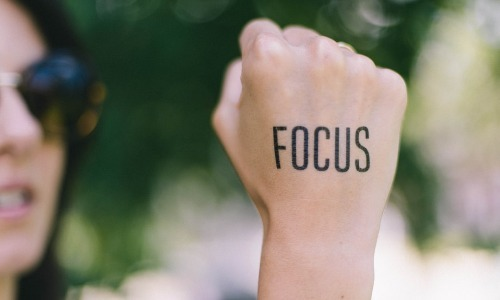 Right focus- Key to successful living