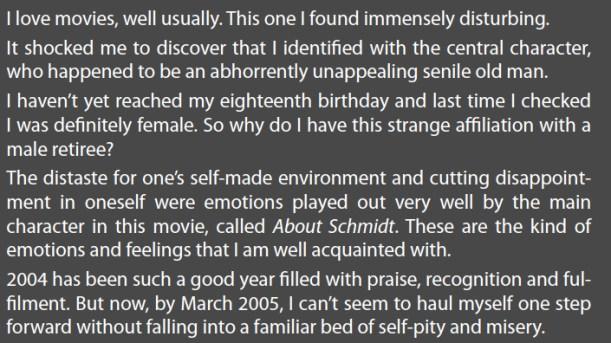 GEORGIE SCHMIDT STORY 1