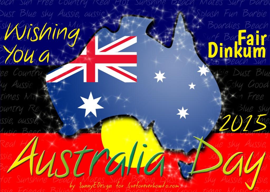 Have a fair dinkum Australia day