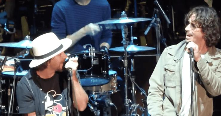 Chris Cornell Eddie Vedder, Chris Cornell, Temple of the Dog, Hunger Strike