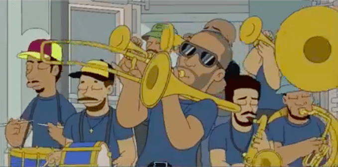 trombone shorty the simpsons