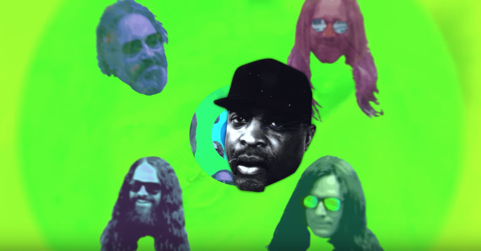 a541aa958038 Circles Around The Sun Releases Psychedelic New Music Video With Cameo By  Public Enemy s Chuck D  Watch