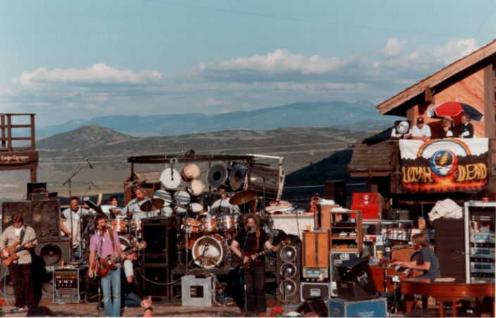 Grateful Dead In September 1983 Revisited: Flying Saucers