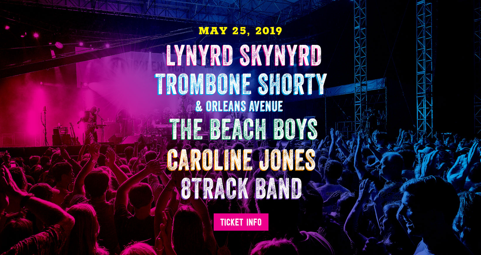 794cfc3449f Greenwich Town Party Announces 2019 Lineup: Lynyrd Skynyrd, Trombone  Shorty, The Beach Boys, More