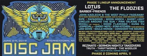 Disc Jam 2019