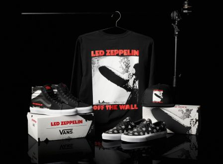 3af5646ba6ab2a Led Zeppelin Announces Partnership With Vans For 50th Anniversary Apparel  Line