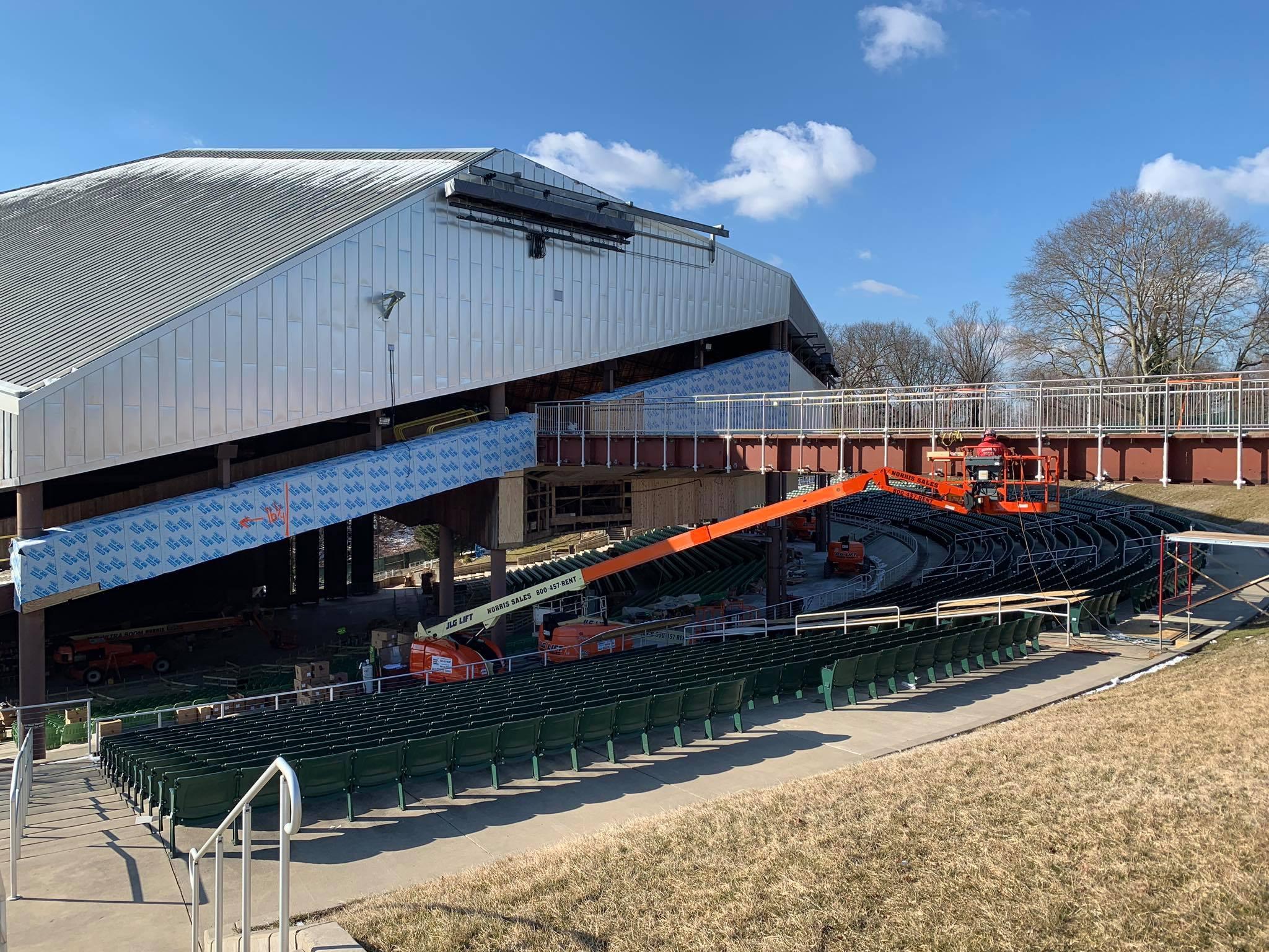 The Mann Center In Philadelphia Undergoes Renovations