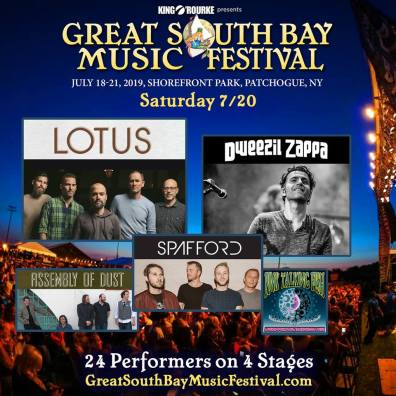 Great South Bay, Great South Bay Music Festival, Great South Bay 2019, Great South Bay Music Festival 2019, Great South Bay lineup, Great South Bay 2019 lineup