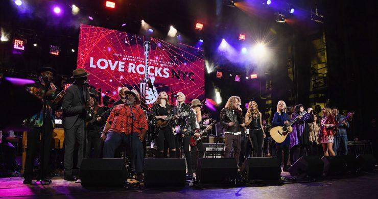Love Rocks NYC, Love Rocks NYC 2019,  Robert Plant, Sheryl Crow, Hozier, Ann & Nancy Wilson of Heart, Buddy Guy, Billy F Gibbons, Grace Potter, Keb Mo, Taj Mahal, Lukas Nelson, Jimmie Vaughan, Doyle Bramhall II, Mavis Staples, Bernie Williams, Ivan Neville, Cyril Neville, Marcus King, Larkin Poe, Alice Smith, Eric Krasno