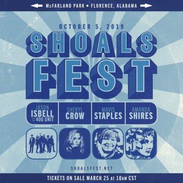 shoalsfest, shoalsfest 2019, shoalsfest 2019 lineup