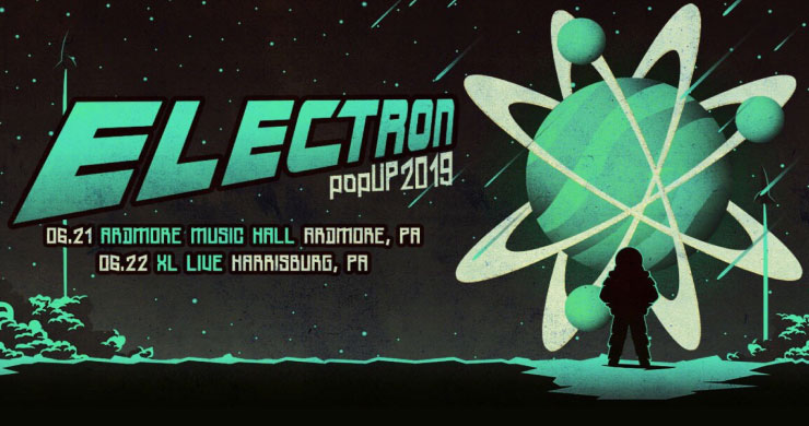 Electron Announces Two Pop-Up Performances, Confirms They Are The Band's Only 2019 Shows