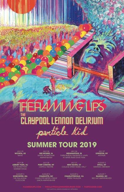 Flaming Lips, Claypool Lennon Delirium, Particle Kid
