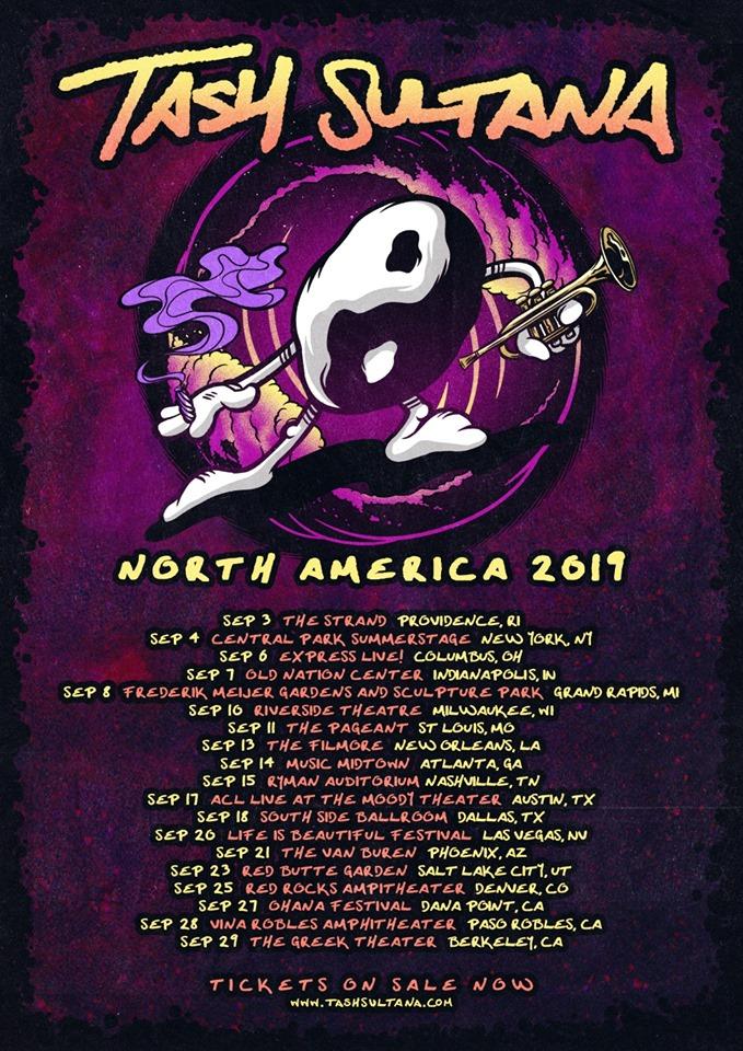 Tash Sultana Announces U S  Fall Tour - Utter Buzz!