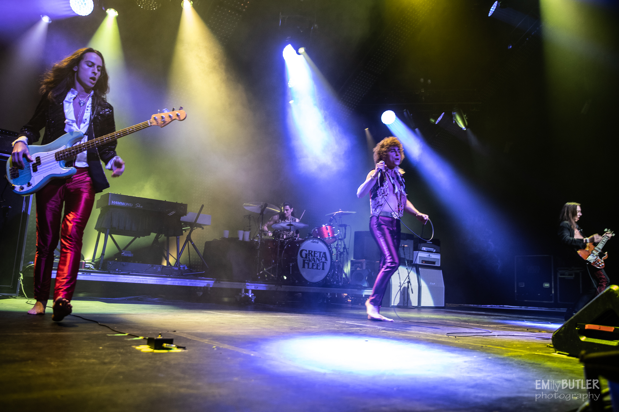 Municipal Credit Union >> PHOTOS: Greta Van Fleet Offers Up Electric Performance At Atlanta's Fox Theatre