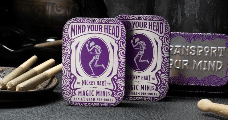mickey hart, mickey hart cannabis, mind your head cannabis, mickey hart mind your head, mickey hart dead and company, mickey hart grateful dead