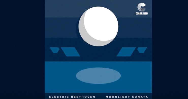 electric beethoven moonlight sonata, electric beethoven, reed mathis, color red, electric beethoven single