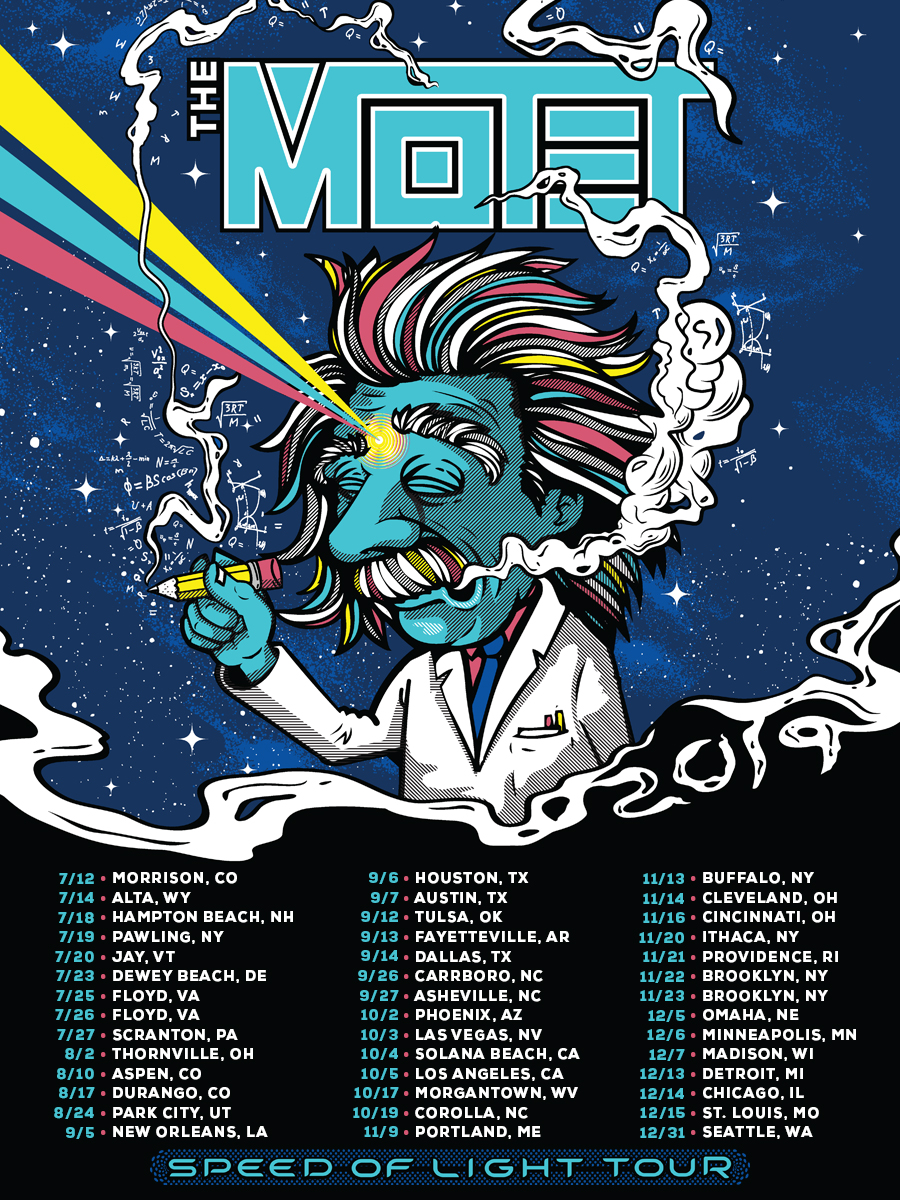 The Motet Announces Coast-To-Coast 2019 Fall Tour - Utter Buzz!